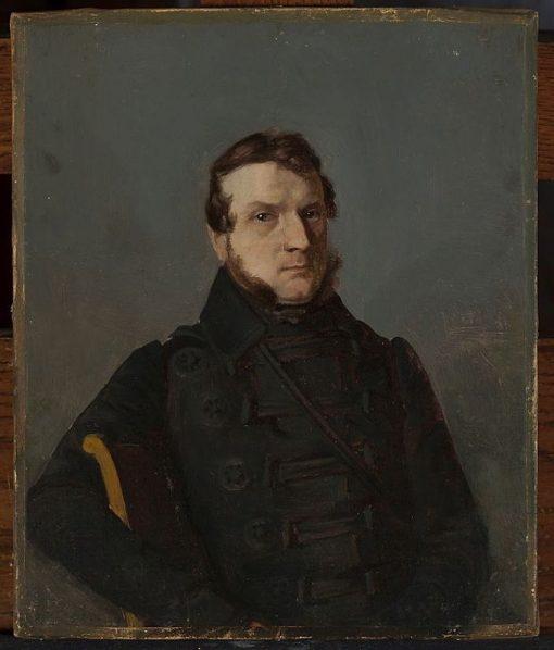 Portrait of a Man(also known as Portret m?ski)   Bonawentura Dabrowski   Oil Painting
