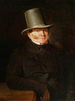 Portrait of Pawel Pellizzaro   Bonawentura Dabrowski   Oil Painting
