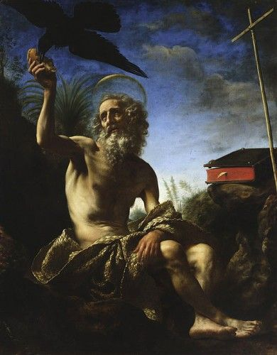 Saint Paul the Hermit | Carlo Dolci | Oil Painting