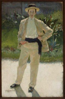 Jozef Czajkowski (1872-1947) | Edward Okun? | Oil Painting