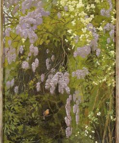 Wisteria(also known as Kwitna?ce glicynie) | Edward Okun? | Oil Painting