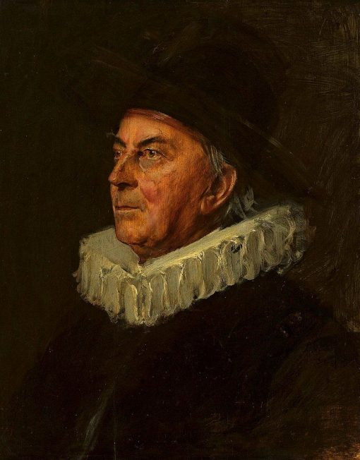 Portrait of professor Syboldt | Franz von Lenbach | Oil Painting