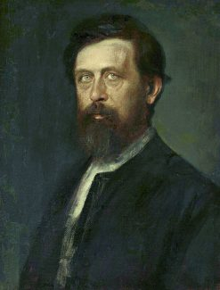 Portrait of Arnold Böcklin | Franz von Lenbach | Oil Painting