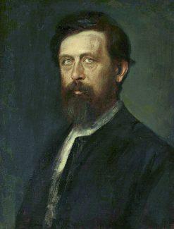 Portrait of Arnold Böcklin | Franz von Lenbach | Oil Painting