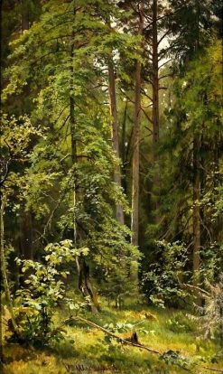 A Forest | Ivan Ivanovich Shishkin | Oil Painting