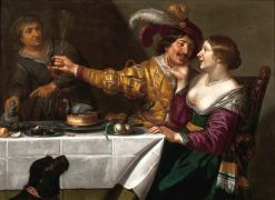 The Procuress | Jan van Bijlert | Oil Painting