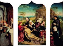 Triptych of the Lamentation of Christ | Jean Bellegambe | Oil Painting