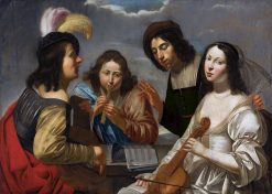 A Concert | Johannes van Bronckhorst | Oil Painting