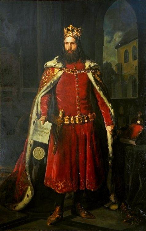 Portrait of Kazimierza Wielkiego | Leopold Löffler | Oil Painting