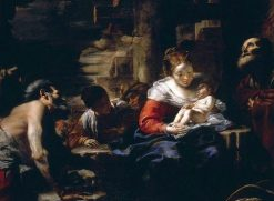 The Adoration of the Shepherds | Mattia Preti | Oil Painting
