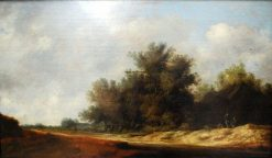 The Road among Dunes | Salomon van Ruysdael | Oil Painting