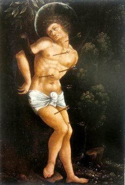 Saint Sebastian | Wolf Huber | Oil Painting