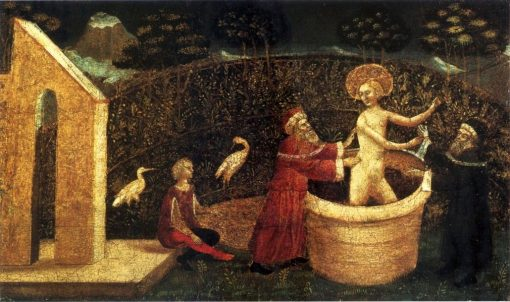 Susanna and the Elders   Gentile da Fabriano   Oil Painting