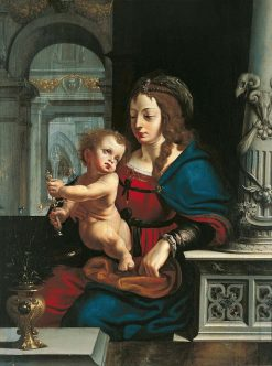 Madonna and Child | Joos van Cleve | Oil Painting