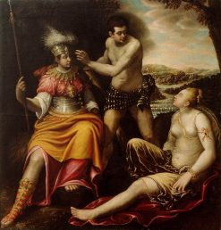 Hercules at the Crossroads | Giovanni Baglione | Oil Painting
