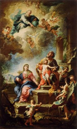 The Rest on The Flight into Egypt | Martino Altomonti | Oil Painting