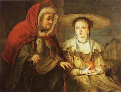 Vertumnus and Pomona | Aert de Gelder | Oil Painting