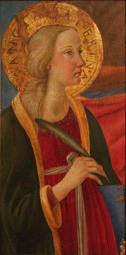Saint Catherine of Alexandria | Cosimo Rosselli | Oil Painting