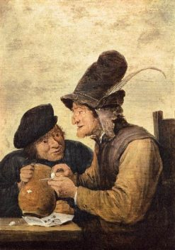 Two Drunkards | David Teniers II | Oil Painting