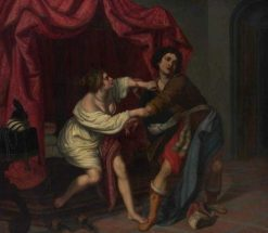 Joseph and Putifar's Wife | Giovanni Biliverti | Oil Painting
