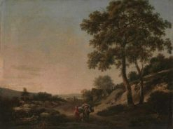 Horseman in a Landscape | Jan Wijnants | Oil Painting
