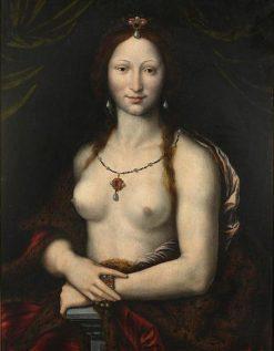 Mona Vanna | Joos van Cleve | Oil Painting