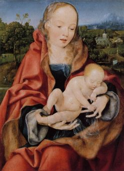Madonna and Sleeping Child | Joos van Cleve | Oil Painting