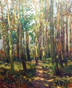 In the Woods | Josef Ullmann | Oil Painting