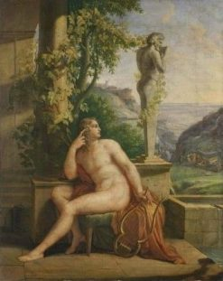Tibullus   Joseph Abel   Oil Painting