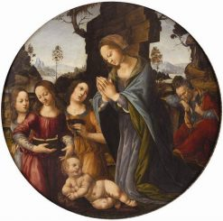 Adoration of the Magi | Lorenzo di Credi | Oil Painting
