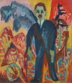 The Healthcare Provider | Ernst Ludwig Kirchner | Oil Painting