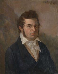 Portrait of Gregers Fougner Lundh (1786-1836)   Johannes Flintoe   Oil Painting