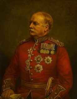 Major General Herbert Taylor MacPherson (1827-1886) | Edmund Havell the Younger | Oil Painting