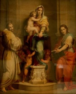 Madonna of the Harpies | Andrea del Sarto | Oil Painting