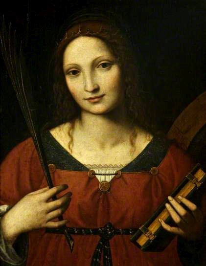 Saint Catherine | Bernardino Luini | Oil Painting