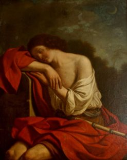 Sleeping Endymion | Guercino | Oil Painting