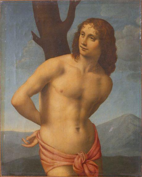 Saint Sebastian   Bernardino Luini   Oil Painting
