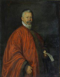 Portrait of Nikola Kuchi | Bernardo Strozzi | Oil Painting
