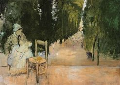 A Nanny in the Luxembourg Gardens