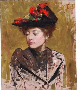 Study of Lena Brasch | Tom Roberts | Oil Painting