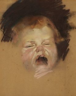Crying baby (Caleb Roberts) | Tom Roberts | Oil Painting
