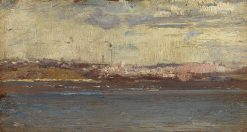 Harbourscape(also known as Seascape) | Tom Roberts | Oil Painting