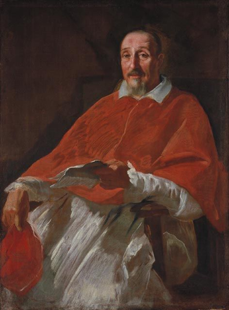 Cardinal Lelio Biscia | Andrea Sacchi | Oil Painting