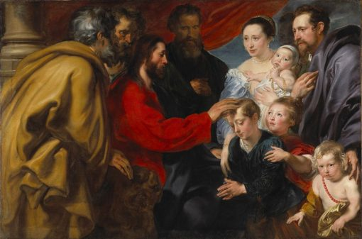 Let the Children Come to me | Anthony van Dyck | Oil Painting