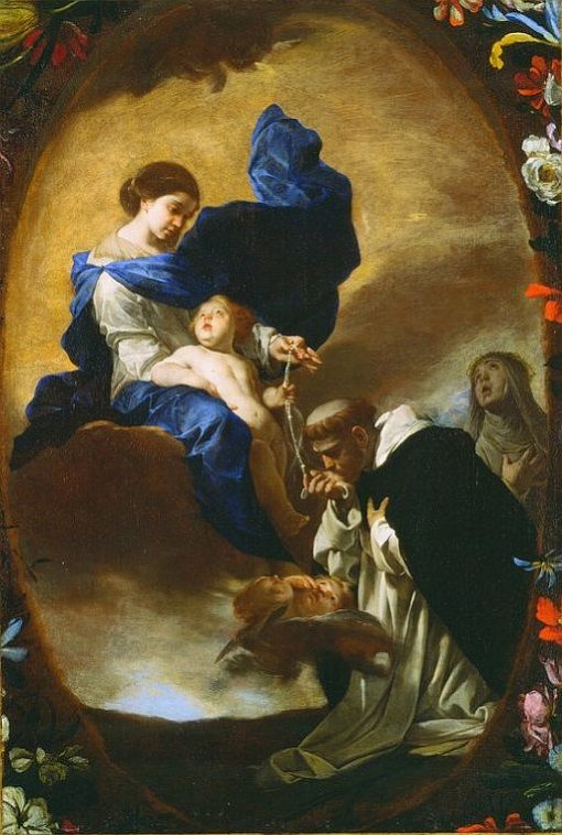 The Vision of Saint Dominic   Bernardo Cavallino   Oil Painting