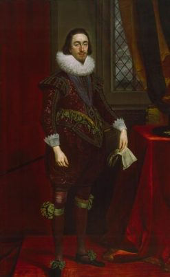 Charles I as Prince of Wales   Daniel Mijtens   Oil Painting