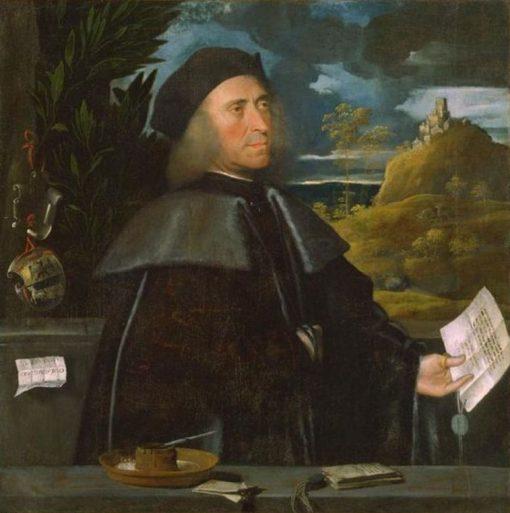 Giovan Antonio Caravaggi | Giovanni Cariani | Oil Painting