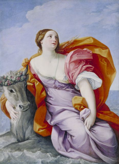 Jupiter and Europa   Guido Reni   Oil Painting