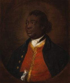 Ignatius Sancho | Thomas Gainsborough | Oil Painting