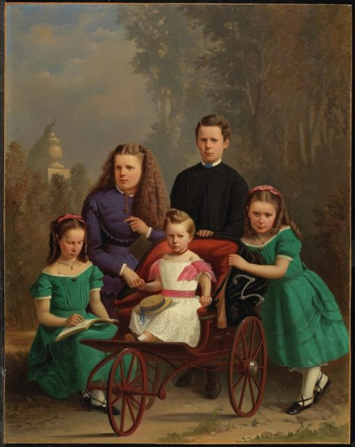 The McFarlane Children | William Raphael | Oil Painting